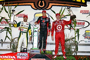 IndyCar Honda Racing Iowa Race Report