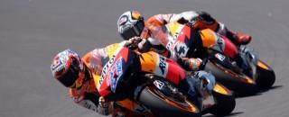 MotoGP Repsol Honda Finishes Italian GP On MotoGP Podium