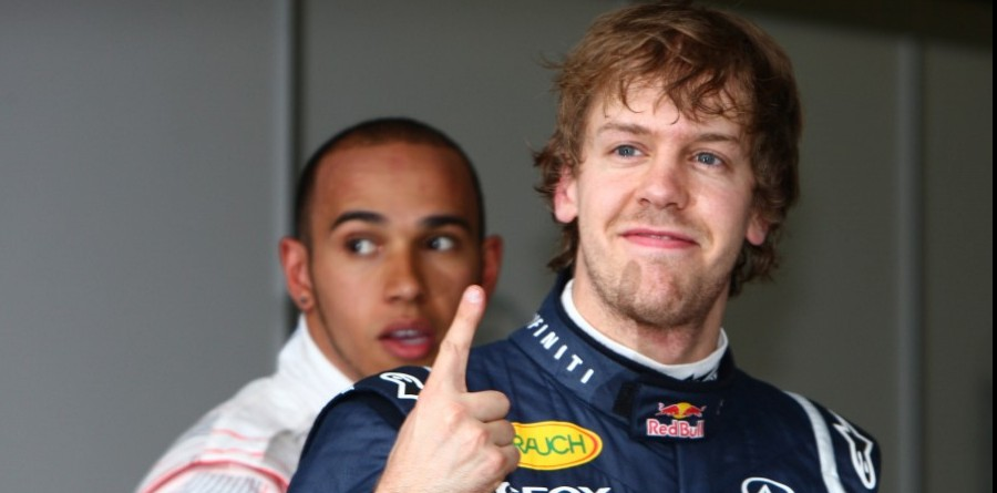 Vettel Vows To Annoy Some With F1 Victory Finger