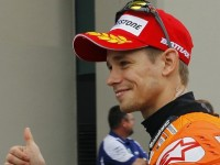 Stoner Lays Down Fast Lap For MotoGP Pole At German GP