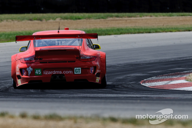 Flying Lizard Motorsports Road America qualifying report