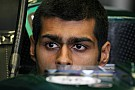 Karun Chandhok behind the wheel for Belgian GP 1st practice session