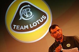 Formula 1 Team Lotus name and logo stays same for now