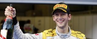 GP2 Romain Grosjean crowned 2011 main series champion