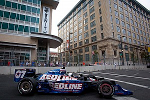 IndyCar Dreyer & Reinbold Racing Baltimore qualifying report