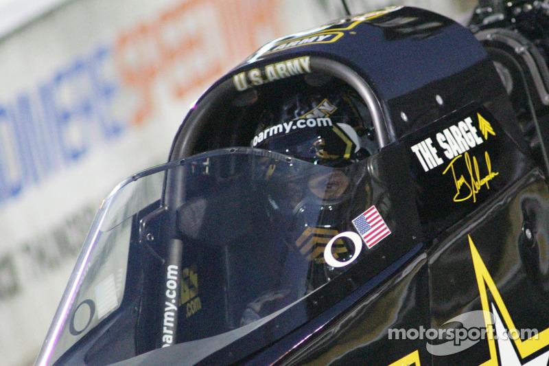 Tony Schumacher Indianapolis Saturday report
