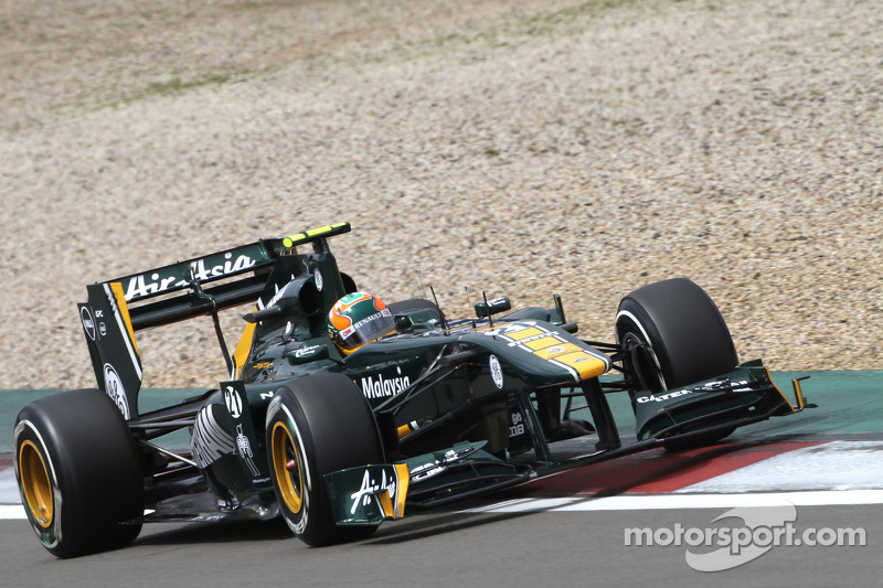 Karun Chandhok is hoping for better weather conditions