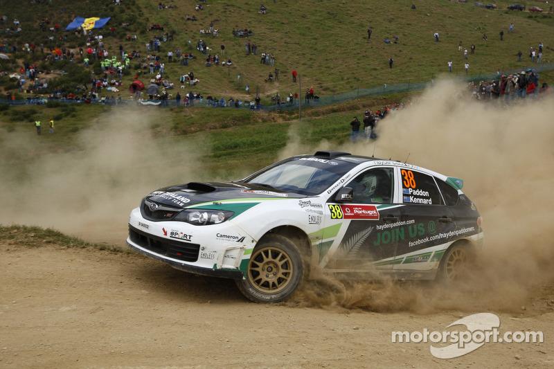 Hayden Paddon Rally Australia stage 2 notes