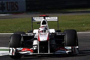 Formula 1 Sauber Italian GP - Monza Friday practice report