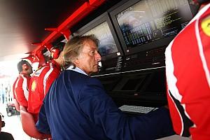 Formula 1 Montezemolo: Formula 1 is too dependent on aerodynamics