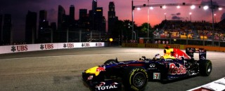 Formula 1 Vettel quickest during 2nd practice for Singapore GP