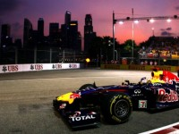 Vettel quickest during 2nd practice for Singapore GP