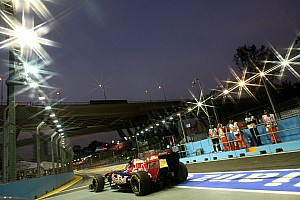 Formula 1 Toro Rosso Singapore GP qualifying report