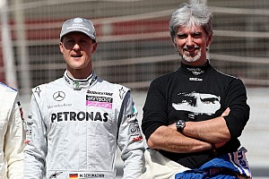 Formula 1 Schumacher 'can't go on' predicts Damon Hill