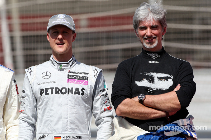 Schumacher Cant Go On Predicts Damon Hill