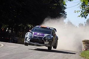 WRC Van Merksteijn Motorsport retires from Rallye de France