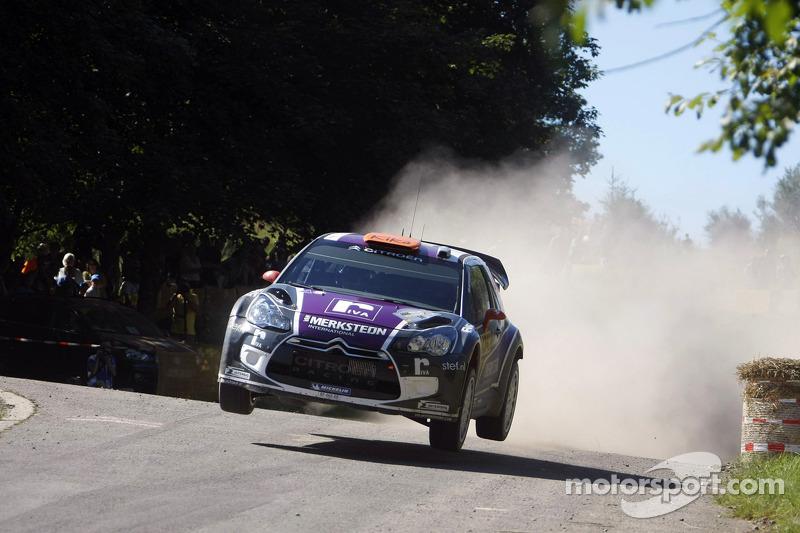 Van Merksteijn Motorsport retires from Rallye de France