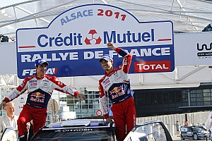 WRC Citroen Rallye de France event summary