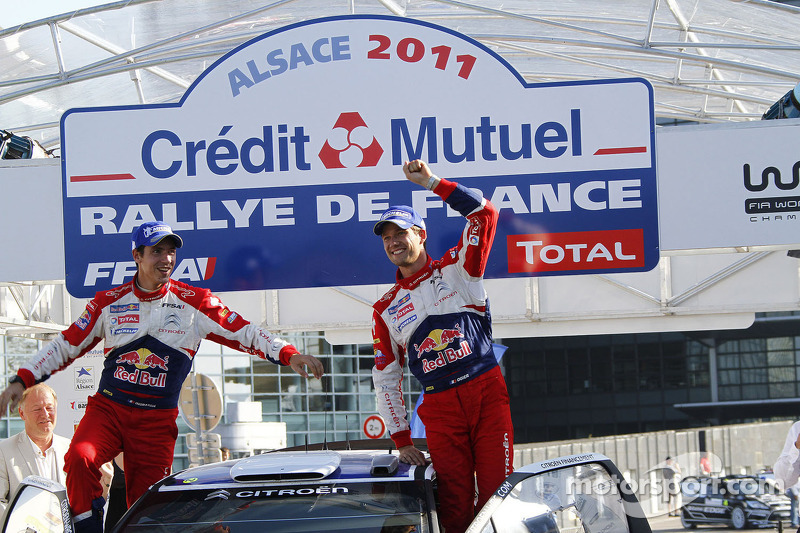 Citroen Rallye de France event summary