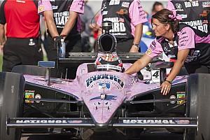 IndyCar J.R. Hildebrand post Las Vegas medical update
