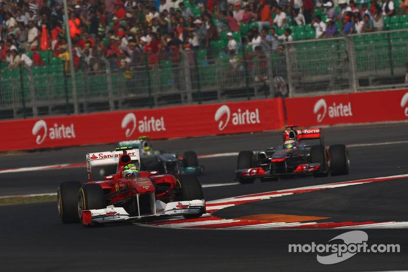 Ferrari Indian GP race report