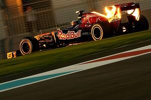 Formula 1 Toro Rosso Abu Dhabi GP Friday practice report