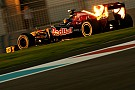 Toro Rosso Abu Dhabi GP Friday practice report
