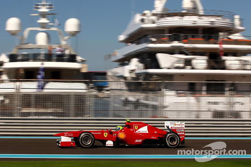 Ferrari Abu Dhabi GP Friday practice report