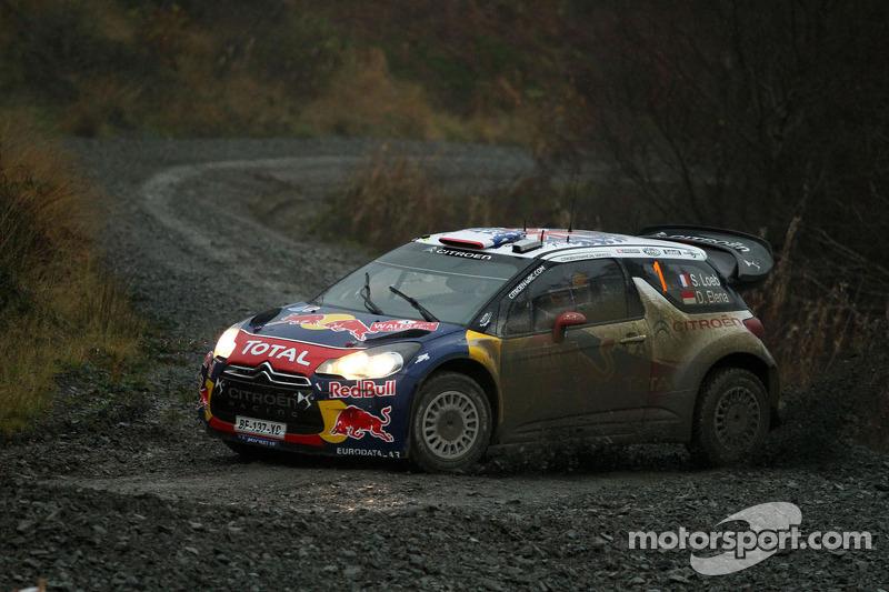 Citroen's Loeb, Elena wrap up title in Wales Rally leg 2
