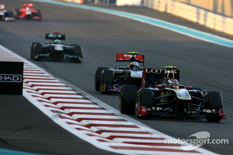 Lotus Renault Abu Dhabi GP race report