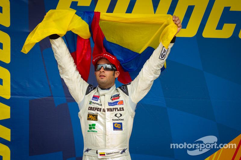 Andretti Autosport tests Davison and Yacaman