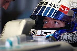 Formula 1 Mercedes Abu Dhabi young driver test Wednesday report