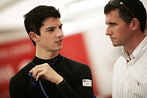 Formula 1 Alexander Rossi Abu Dhabi young driver test Thursday report