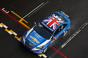 WTCC Huff and Muller share Macau front row