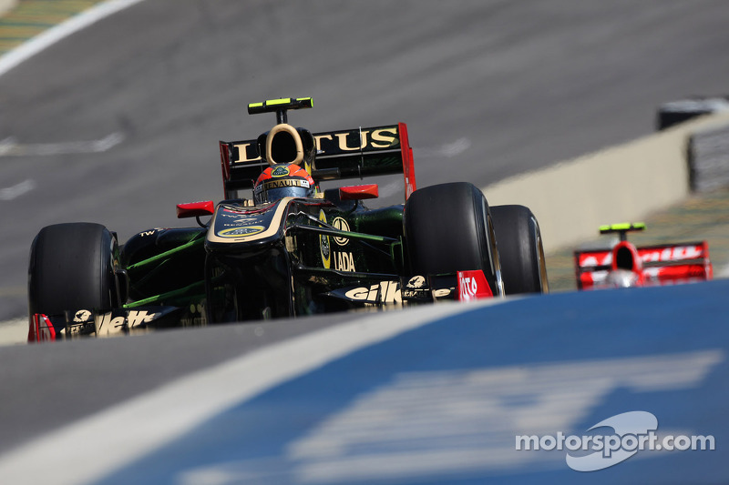Lotus Renault Q&A with Romain Grosjean about the Brazilian GP