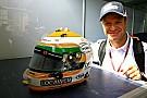 Barrichello reveals helmet design for 2012 season