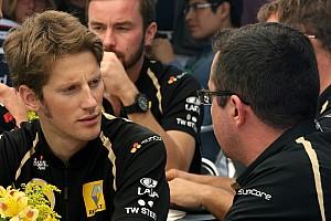 Formula 1 Lotus confirms Grosjean as Raikkonen's teammate