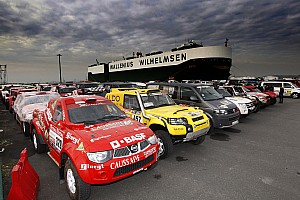 Dakar Teams prepare to arrive in Argentina