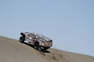 Dakar Team SPEED Hummer stage 2 report