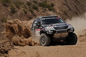 Dakar Imperial Toyota stage 4 report
