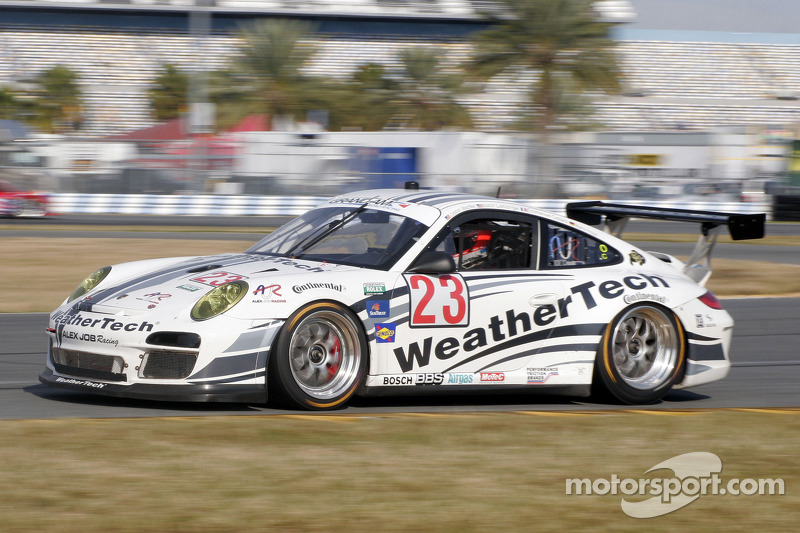 Alex Job Racing Daytona January test summary