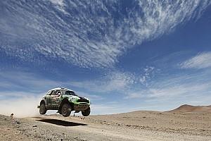 Dakar Team X-raid stage 8 report