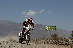 Dakar Aprilia Racing stage 13 report