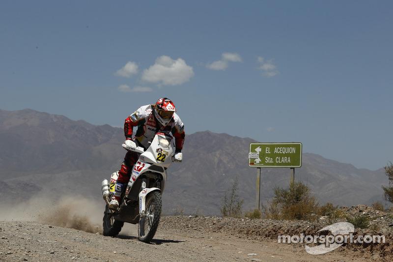 Aprilia Racing stage 13 report
