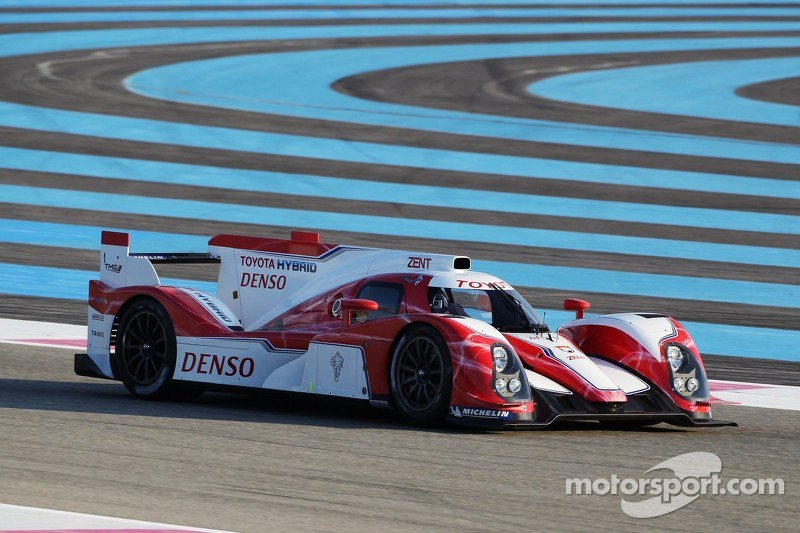 Toyota Racing completes test of TS030 hybrid at Paul Ricard