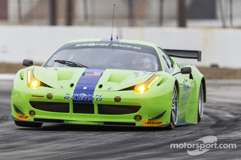 Krohn Racing winter test summary