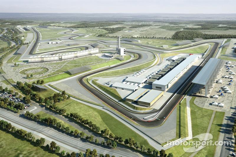 Work racing ahead at 2012 US GP site