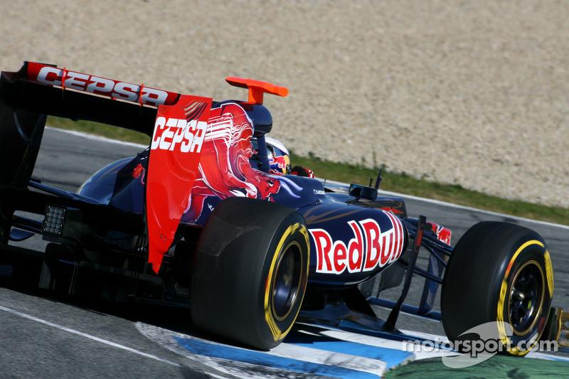 Toro Rosso Jerez test day 2 report