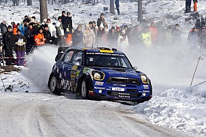 WRC MINI Rally Sweden leg 2 summary