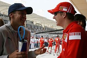 Formula 1 Raikkonen could be 'serious' title opponent - Vettel